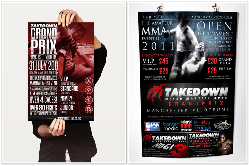 takedown mma hunting town